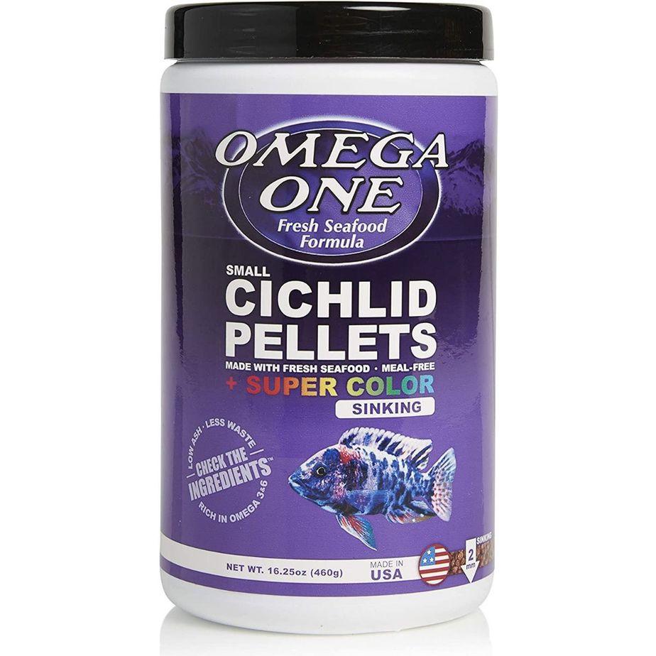 Ommga One Super Color Sinking Cichlid Pellets