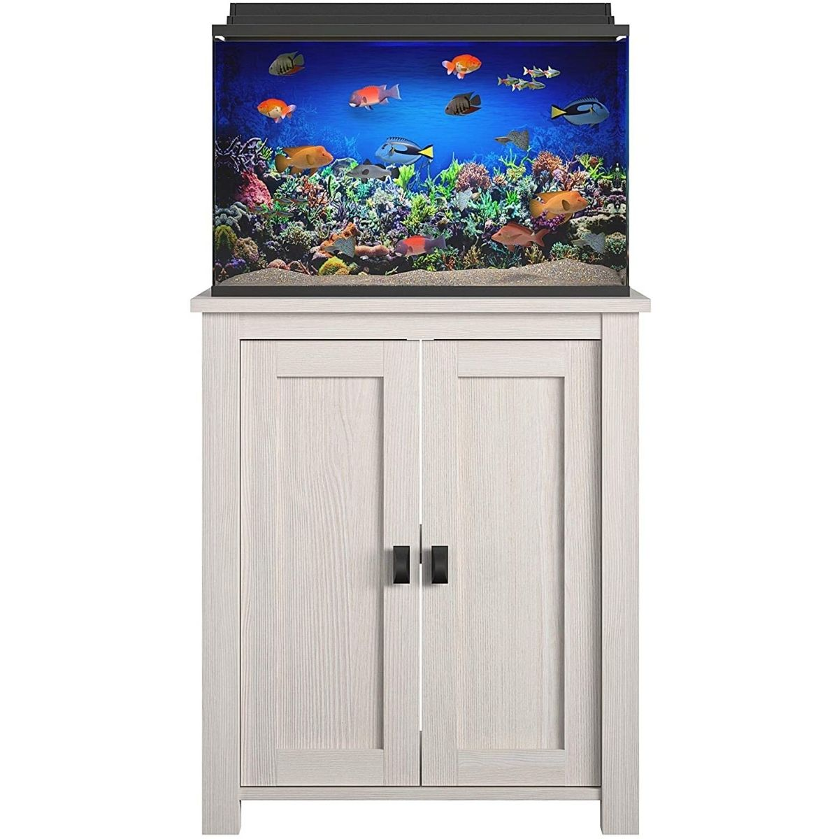 The Best 10 Gallon Fish Tank Stand Option: Ollie & Hutch Farmington 10/20 Gallon Aquarium Stand