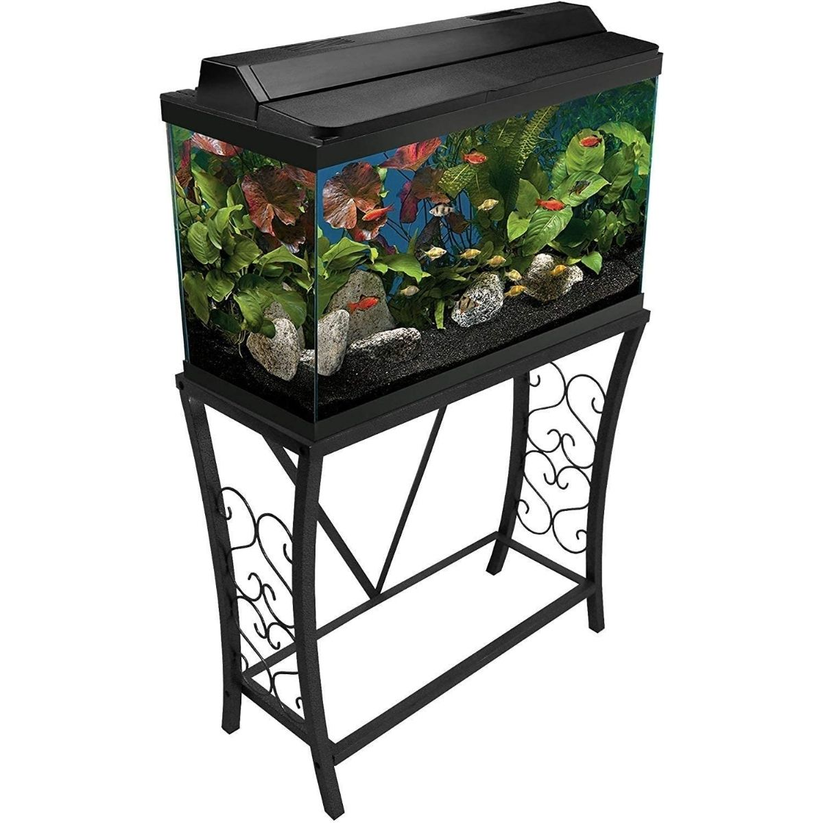 The Best 29 Gallon Aquarium Stand Option: Aquatic Fundamentals Metal Aquarium Stand