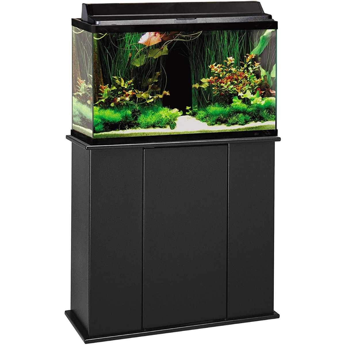 The Best 29 Gallon Aquarium Stand Option: Aquatic Fundamentals Wood Aquarium Stand