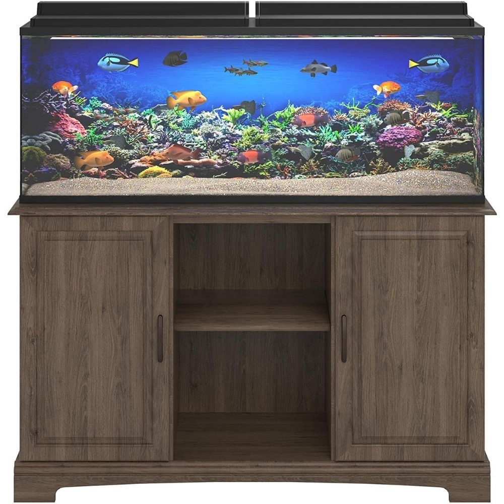 Best 55 Gallon Fish Tank Stand: Ameriwood HOME Harbor